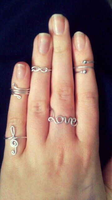 Ring inspiration Done with just wire! :o | Shrindoll Worthy ...