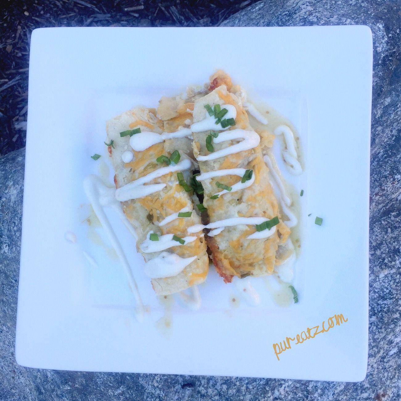 21 day fix Creamy Chicken Enchilada Suiza Creamy chicken