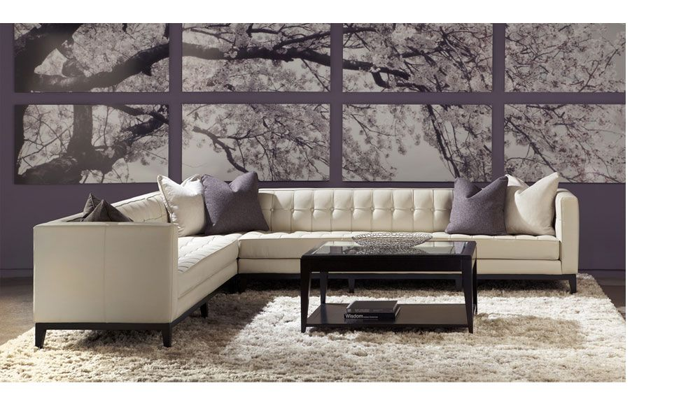 American Leather Menlo Park Sectional Sofa Pinworthy Sofas We Love At Design Connection Inc Kansas City Interior Http Www Des