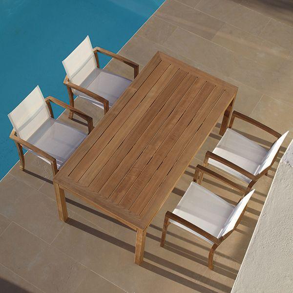 Royal Botania Xqi Teak Table Chair Dining Outdoor Homeinfatuation Com Royal Botania Outdoor Teak Dining Table Outdoor Dining Chairs