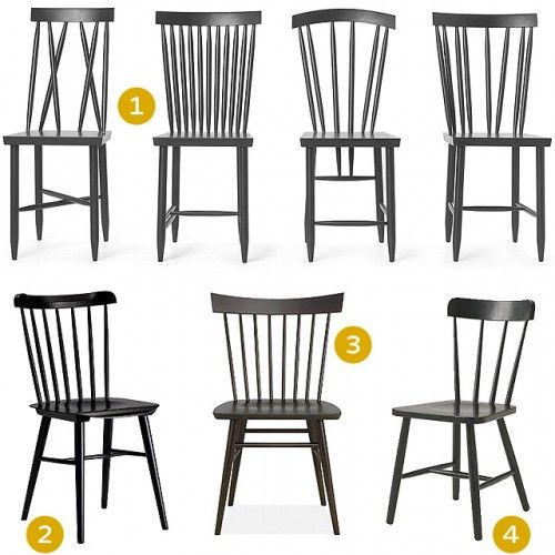 Black Wood Dining Chair dining chairs | windsor chairs | pinterest | chairs, wood trim and