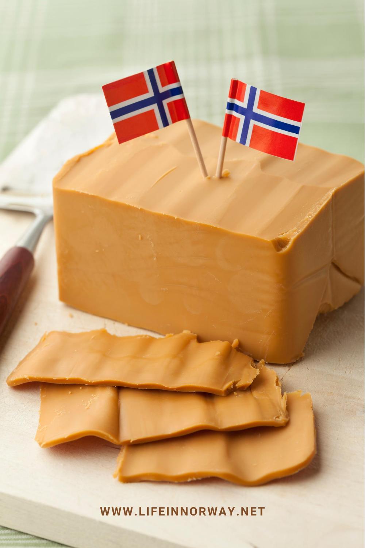 This Is Brunost Norwegian Brown Cheese Life In Norway In 2020 Norwegian Cuisine Scandinavian Food Norwegian Food