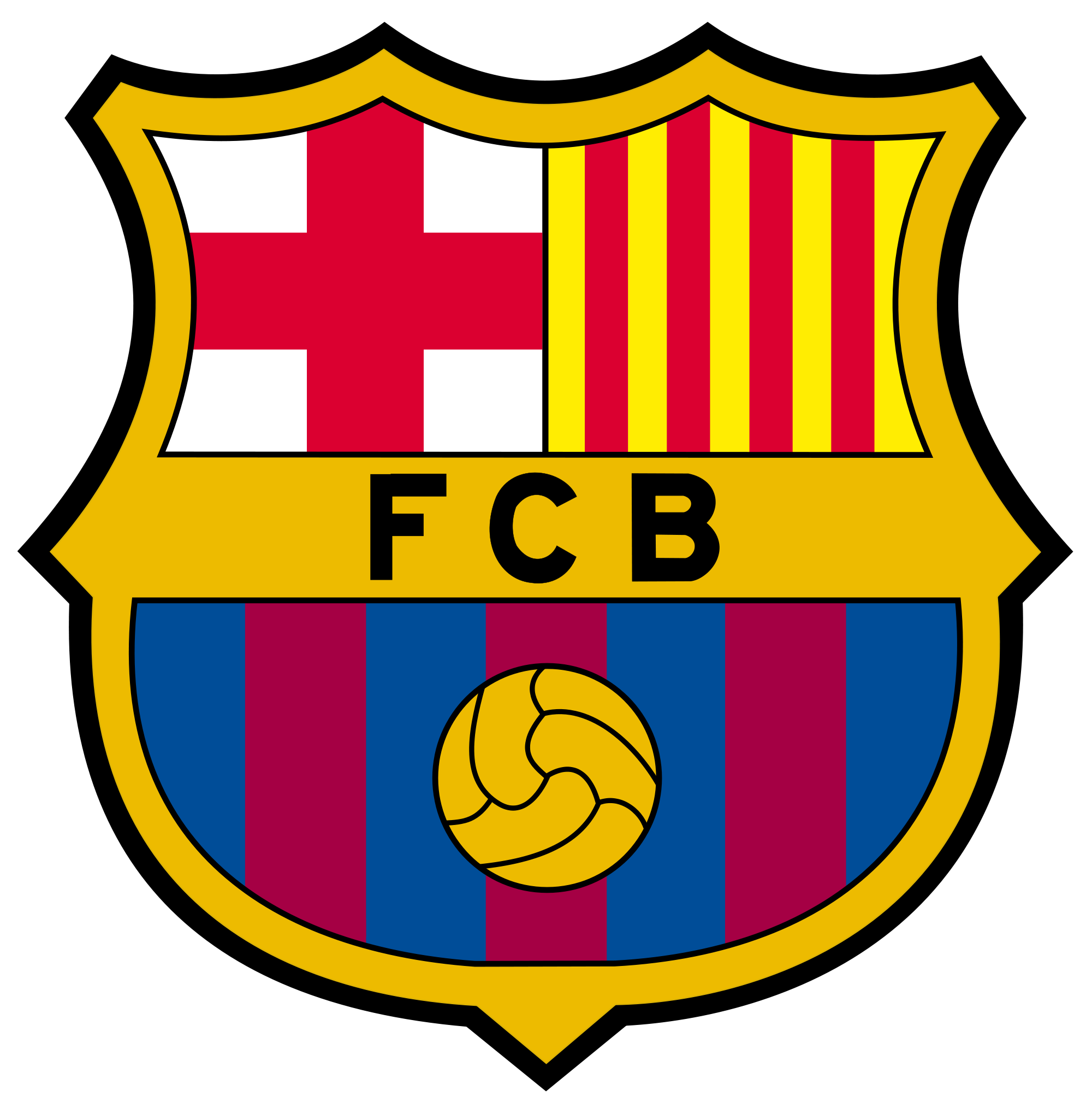 FC Barcelona Logo White Background Wallpapers Pinterest