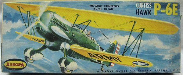 Aurora 1/43 Curtiss Hawk P-6E