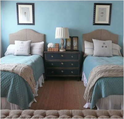 Elegant Key Interiors By Shinay: Decorating Room With Two Twin Beds