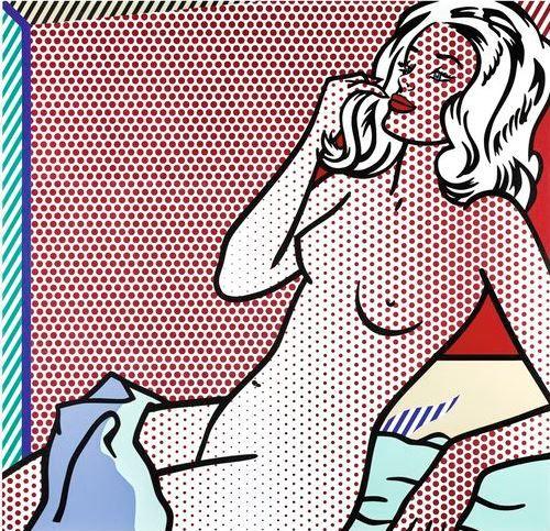 """Roy Lichtenstein's """"Nude Sunbathing"""""""