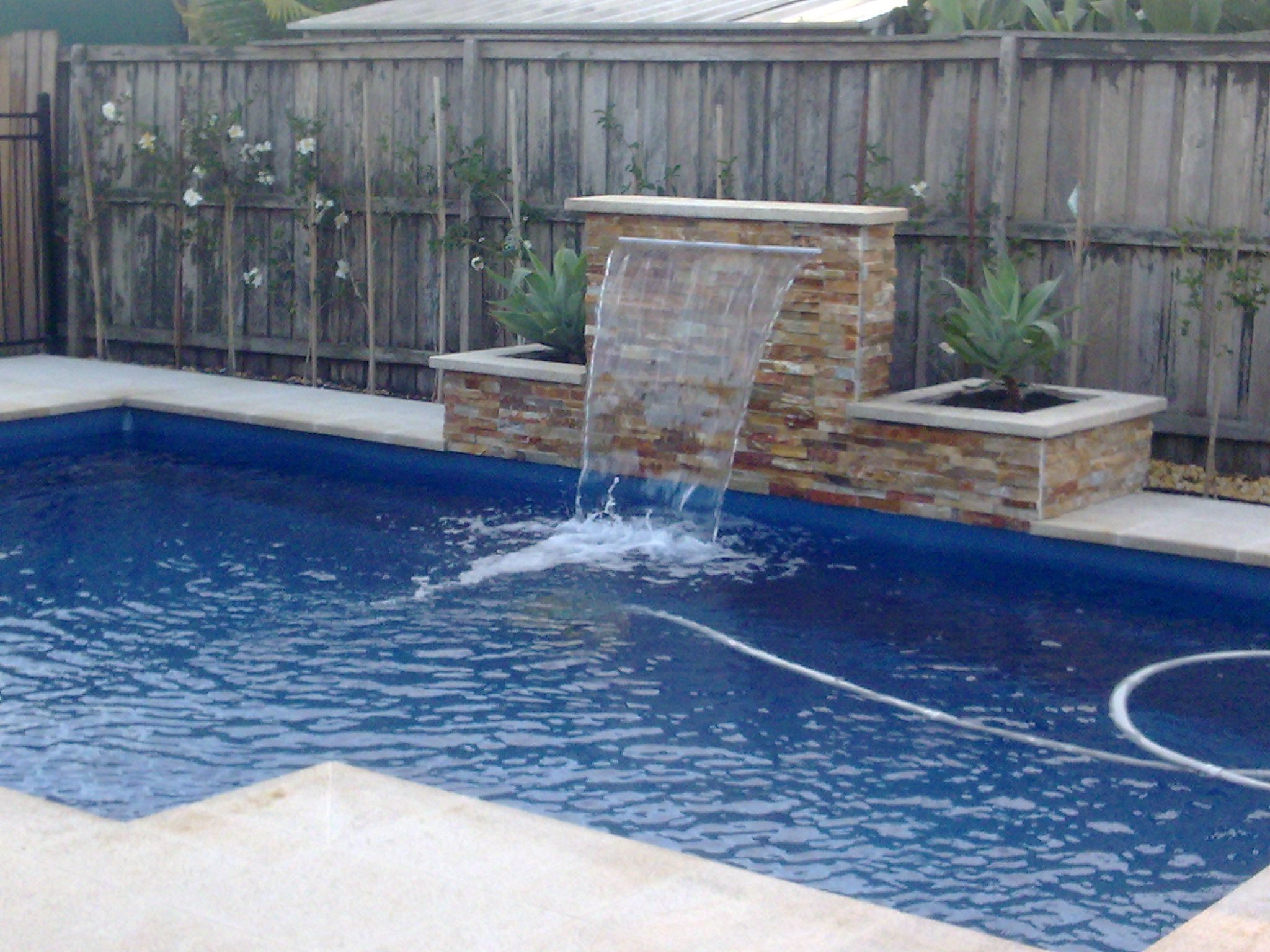 Wall but curved pool patio pinterest backyard swimming swimming pool waterline tiles do you have a pool every single time would you wish you can do something that would make ppazfo