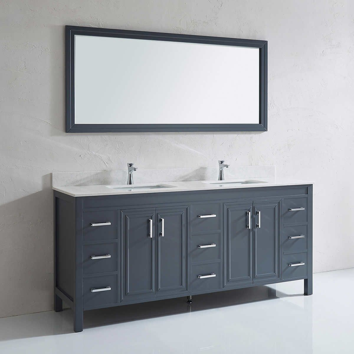 with complete granite vanities black top wood costco natural vanity bathroom