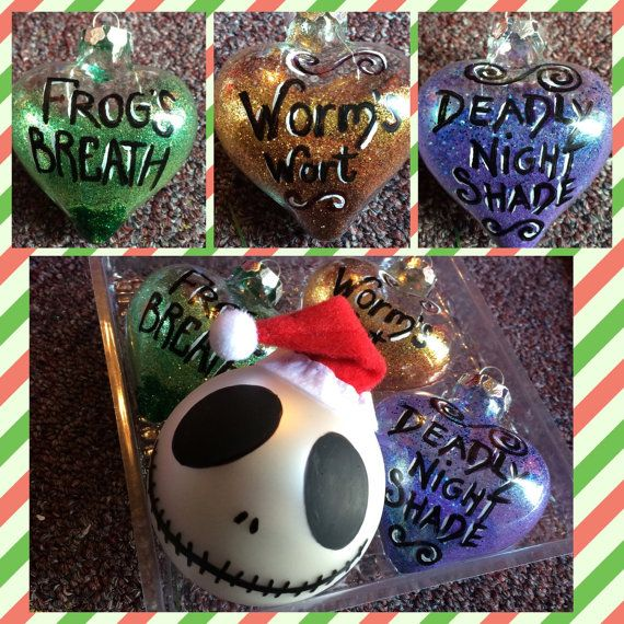 Nightmare before Christmas hand painted by artbybellesoleil - the nightmare before christmas decorations