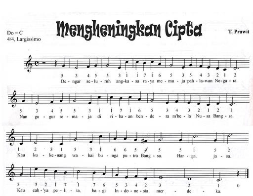 Not Angka Pianika Lagu Mengheningkan Cipta Lagu Kata Kata Motivasi Motivasi