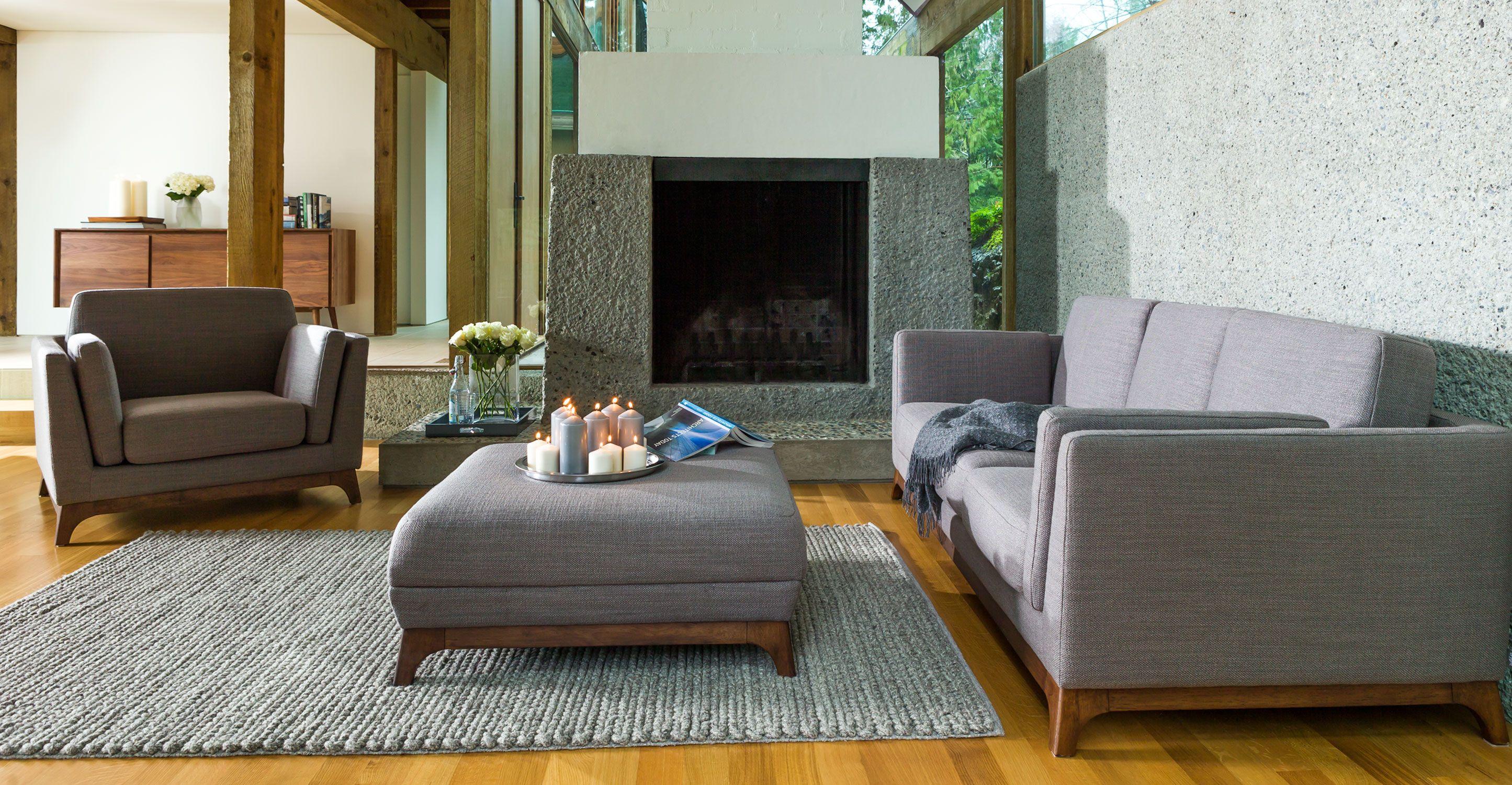 Ceni Pyrite Grey Sofa Sofas Article