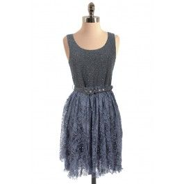 Lace and Sparkles Dress