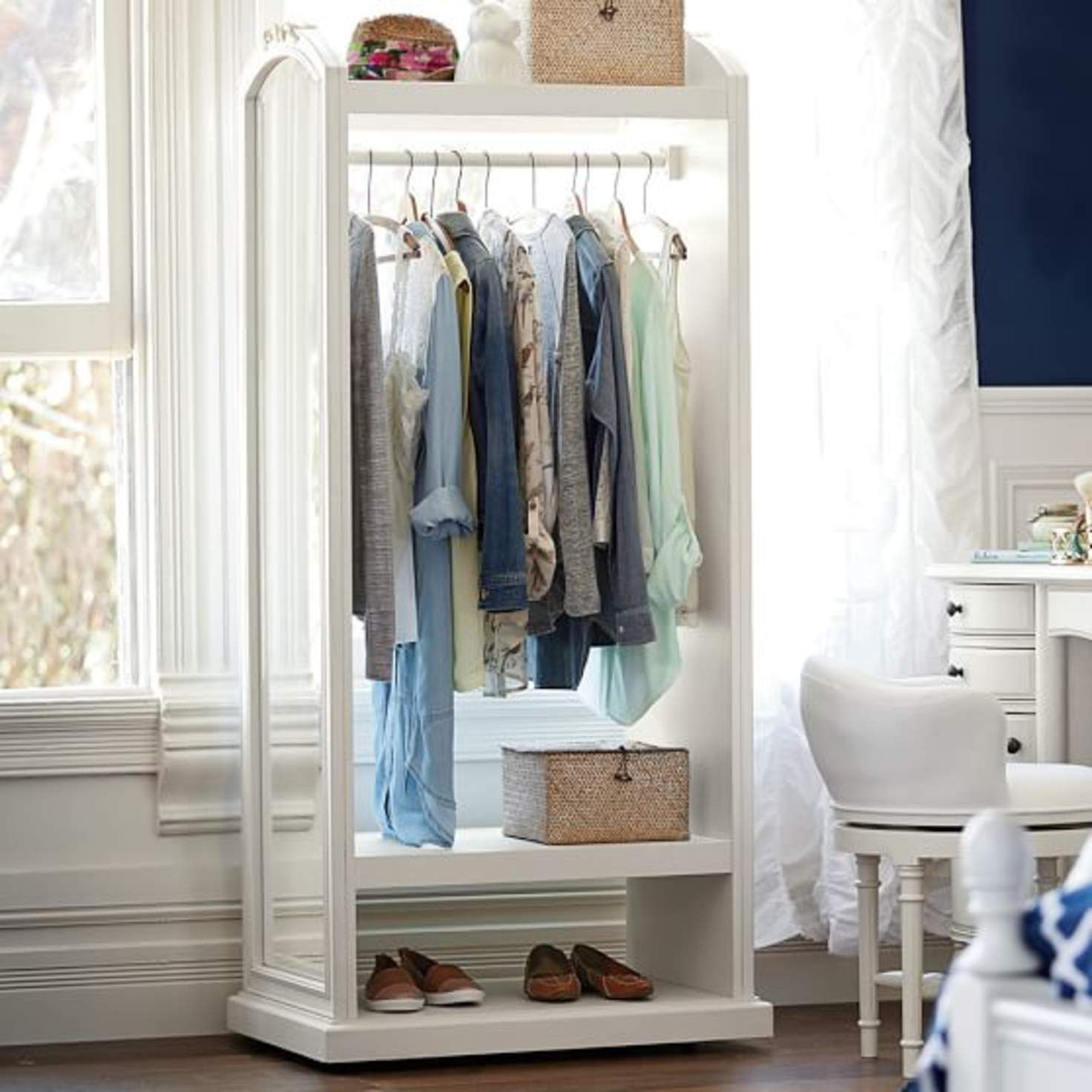 Smart Storage Solution For Small Spaces Or Apartments That Lack