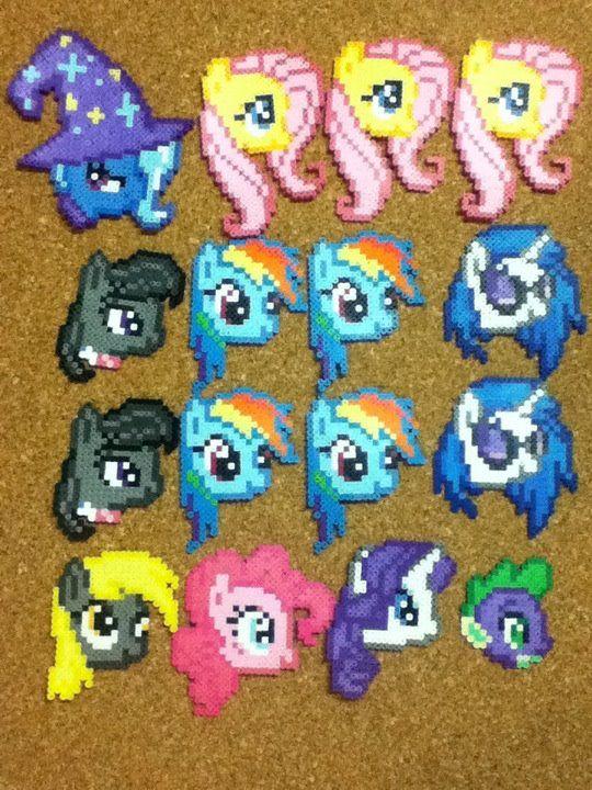 Cabezas de Mi Pequeño Pony