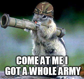 fbc21c8646655911da099e7b515c4f9c bazooka squirrel meme generator imgflip humor pinterest
