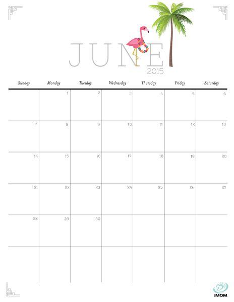 june calendar 2015 printable
