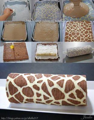 Bolo Girafa muito legal
