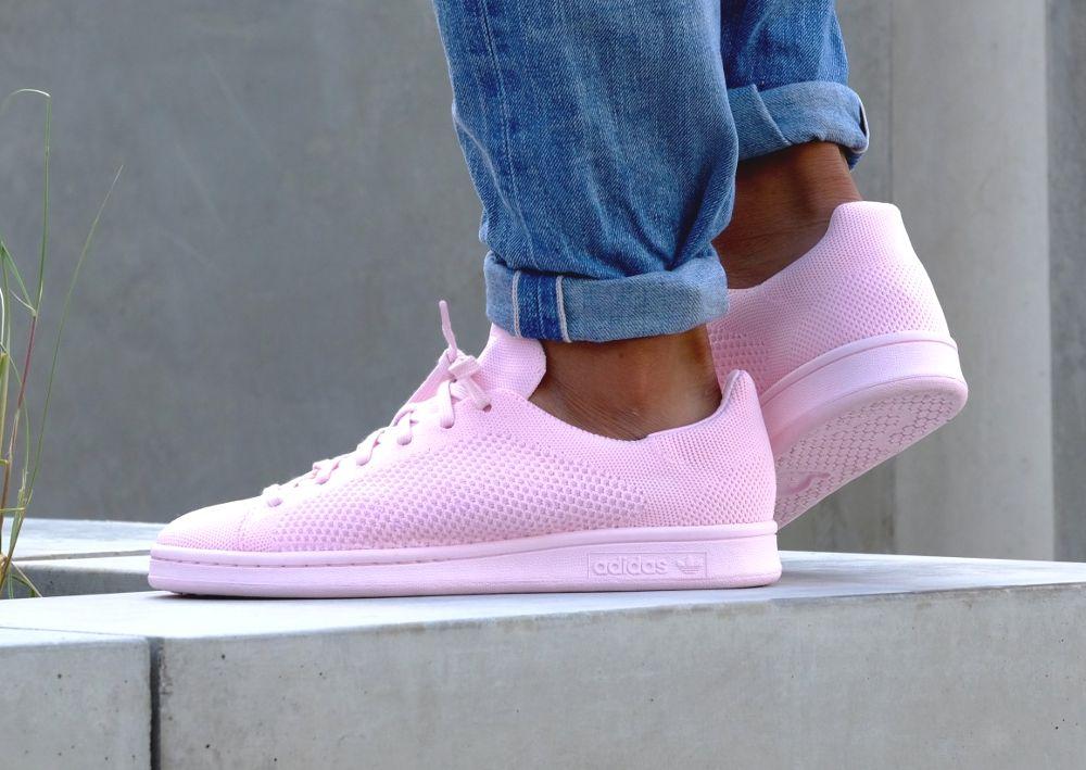 adidas originals la adidas stan smith pink suede 13d57dbc1