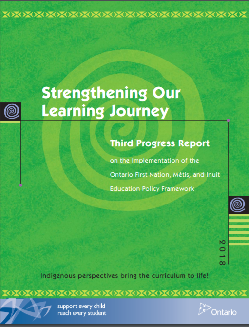 Strengthening our learning journey Third progress report