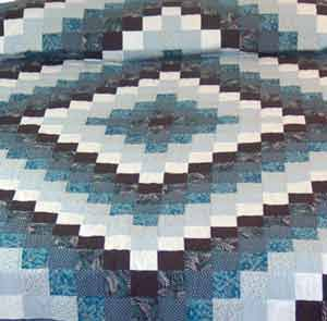 Trip Around the World or Sunshine & Shadows Quilt Pattern | Amish ... : sunshine and shadows quilt pattern - Adamdwight.com