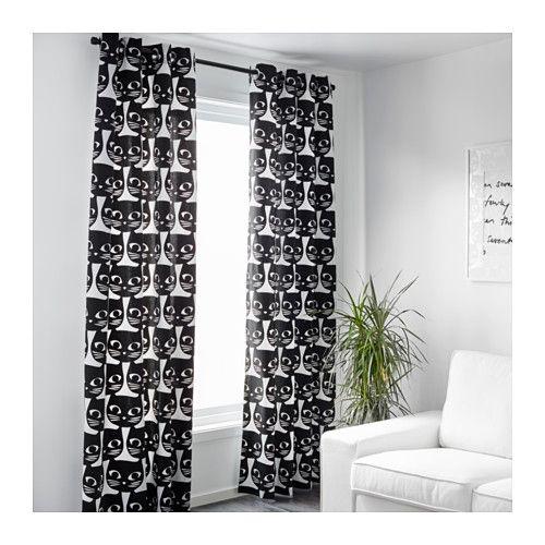 MATTRAM Rideaux, 1 paire - IKEA | bureau | Pinterest | Ikea, Panneau ...