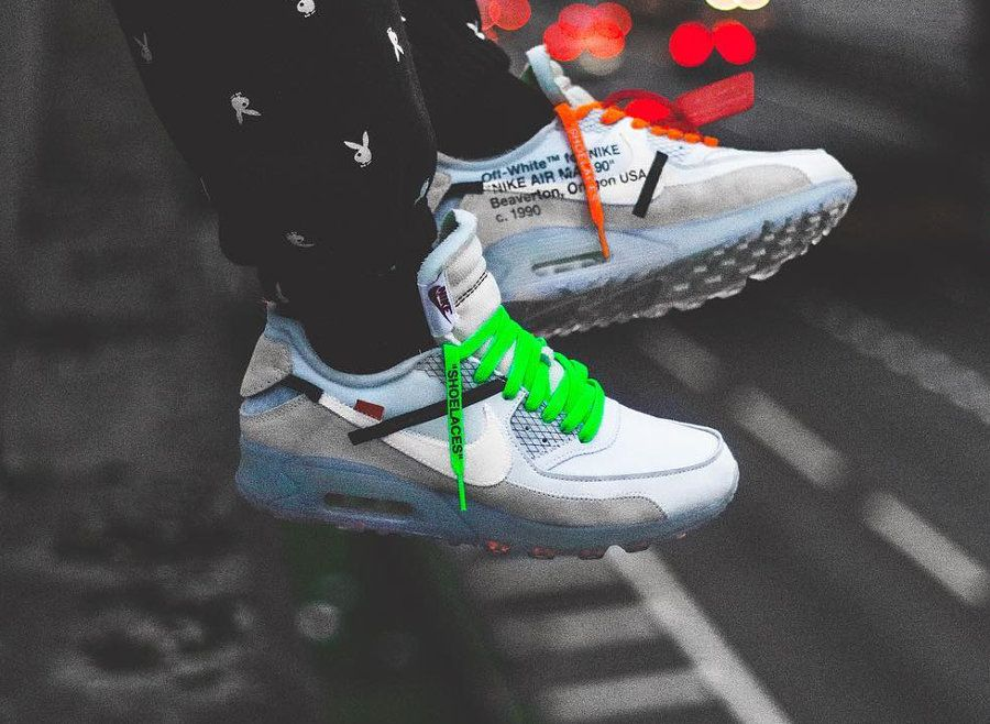 Off White x Nike Air Max 90 'Revealing' | Nike en 2019 ...