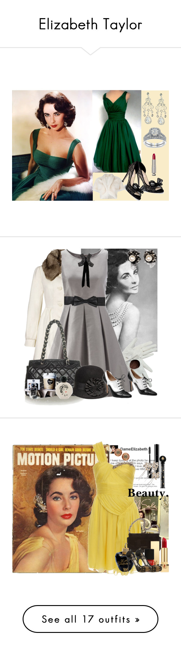 """Elizabeth Taylor"" by cea1509 ❤ liked on Polyvore"