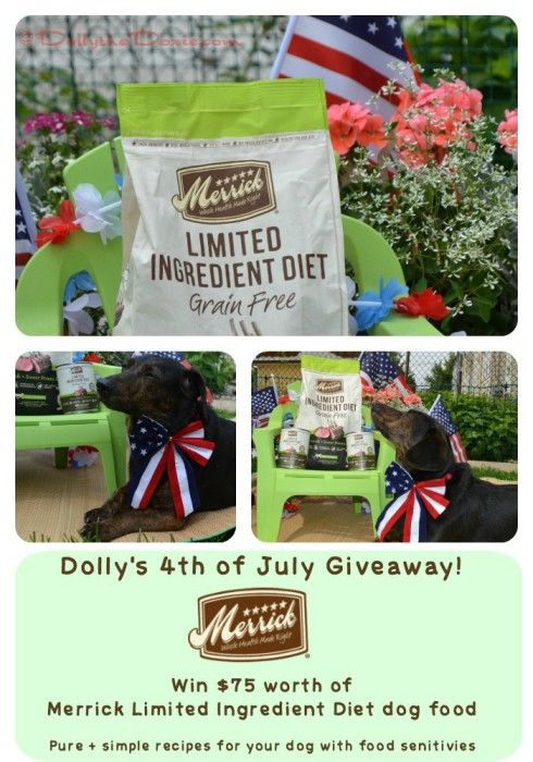 Win 75 Worth Of Merrick Limited Ingredient Diet Dog Food