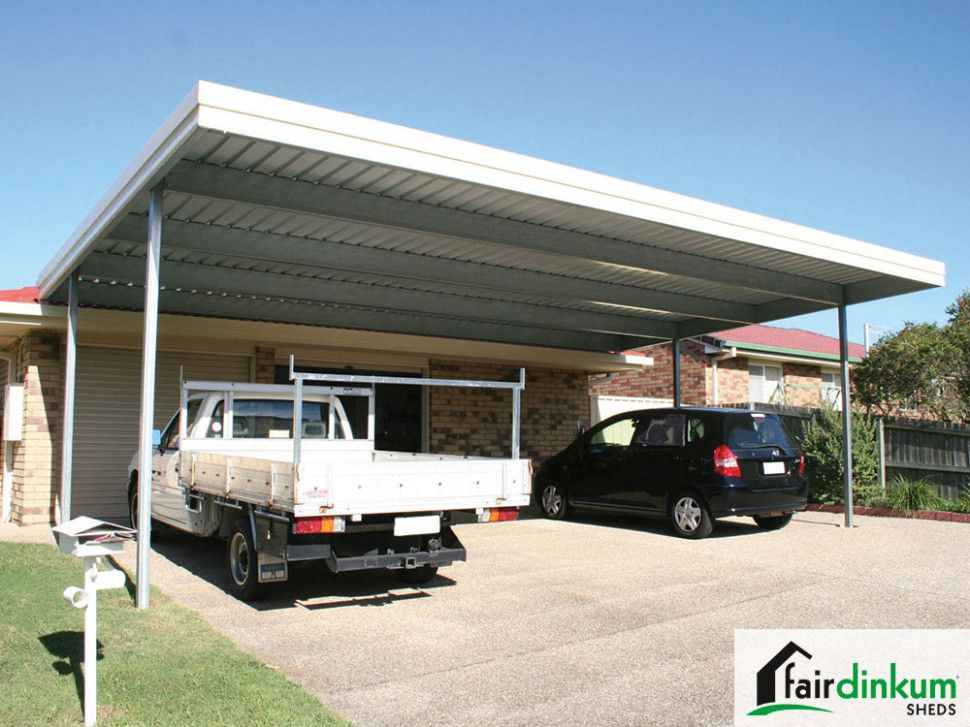 4 Perfect Flat Roof Metal Carport di 2020