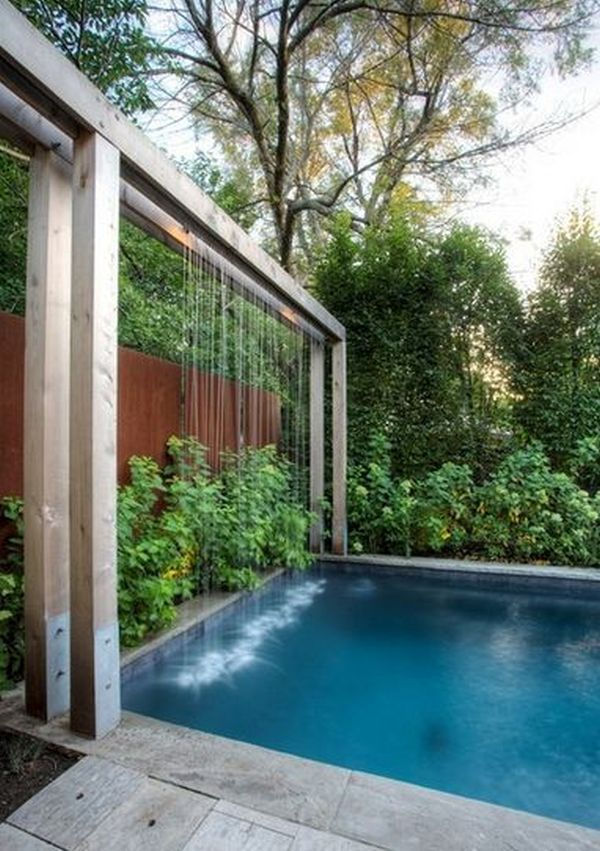 40+ Amazing Outdoor Pool Designs to Refresh your Mind Garden
