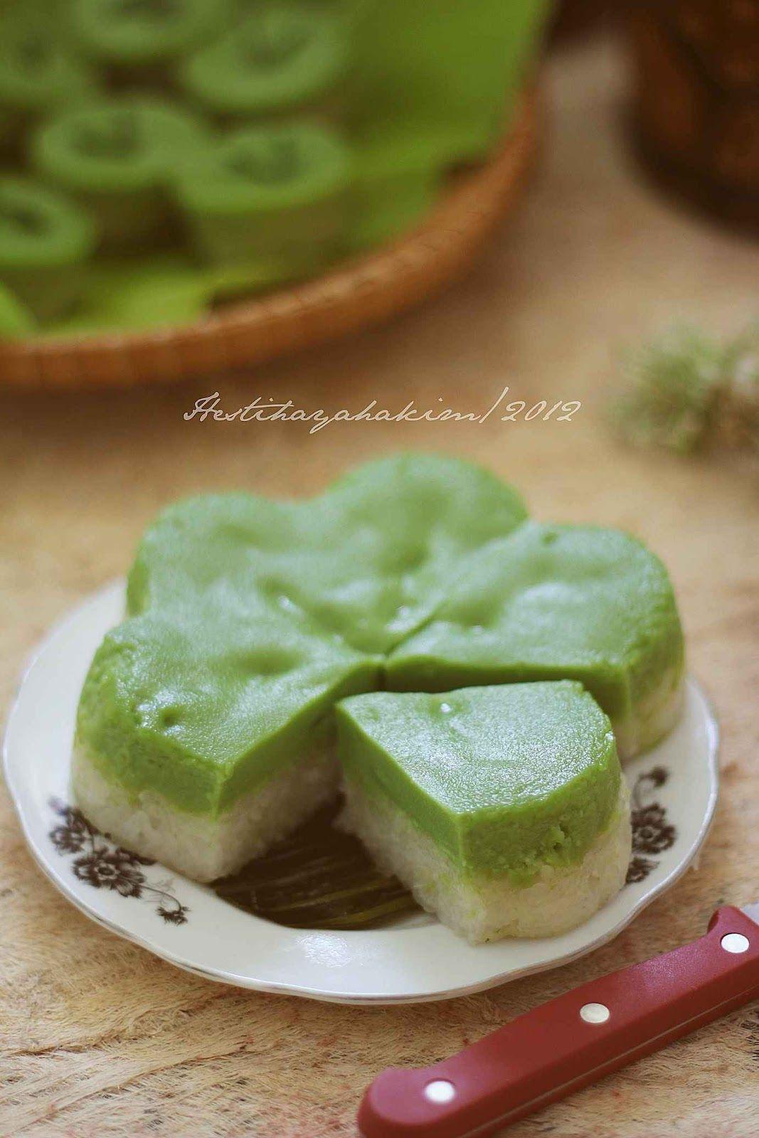 Hesti S Kitchen Yummy For Your Tummy Lapis Ketan Sarikaya Pandan Makanan Dan Minuman Makanan Kue Camilan