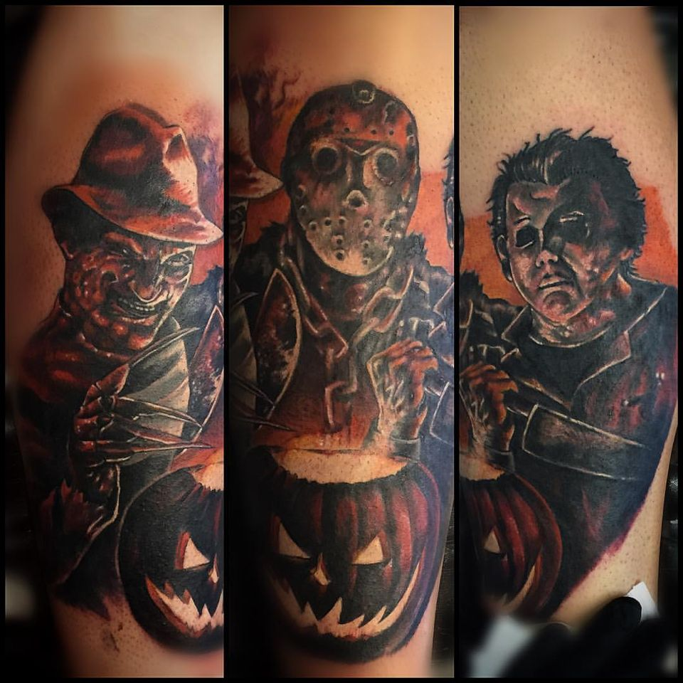 Michael Myers from Halloween tattoo by Daniel Chashoudian ...