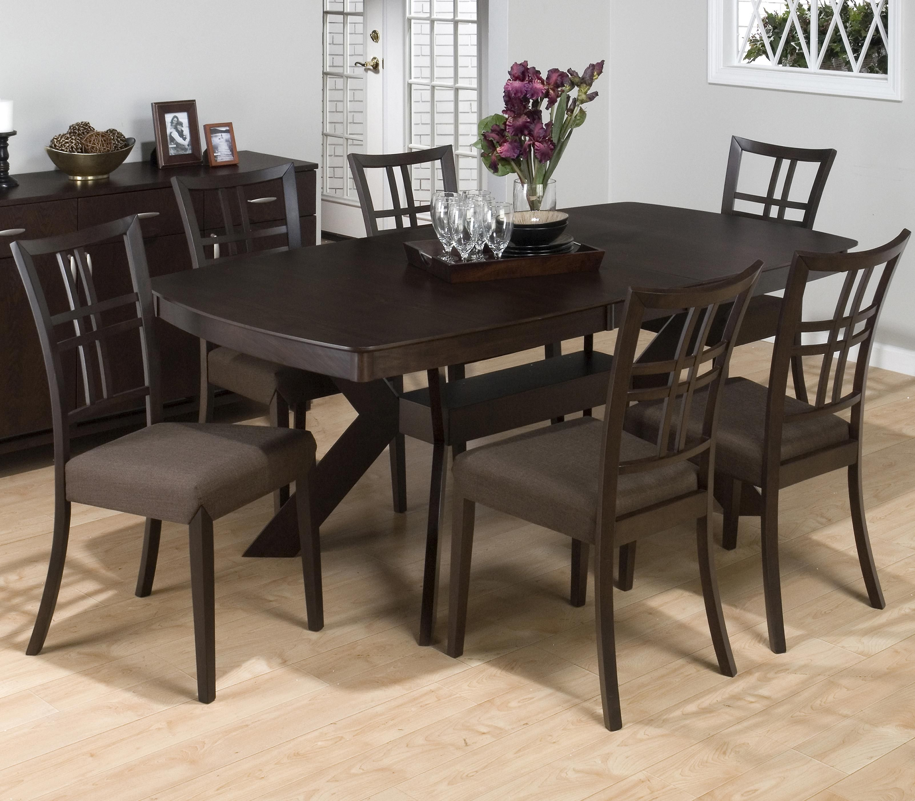 Love Ryder Ash 7 Piece Dining Set By Jofran Pilgrim Dining Room