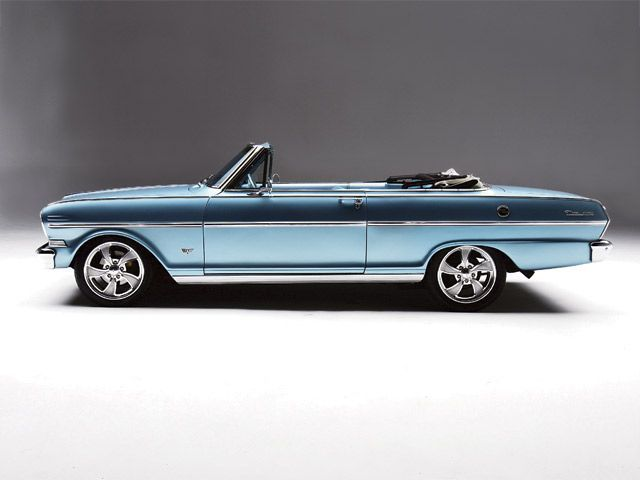 1963 Chevy Nova Convertible Sideview
