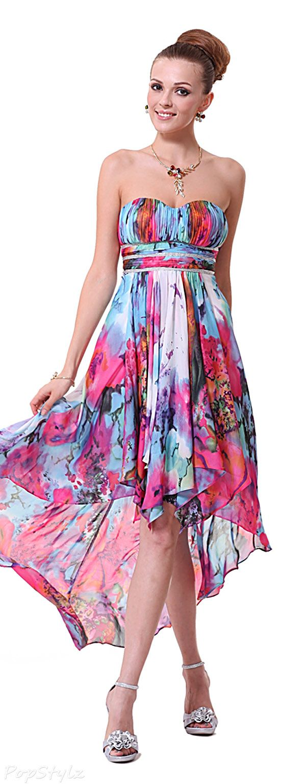 Hi-Lo Cocktail Party Dress | Clothes for Gals | Pinterest | Vestiditos