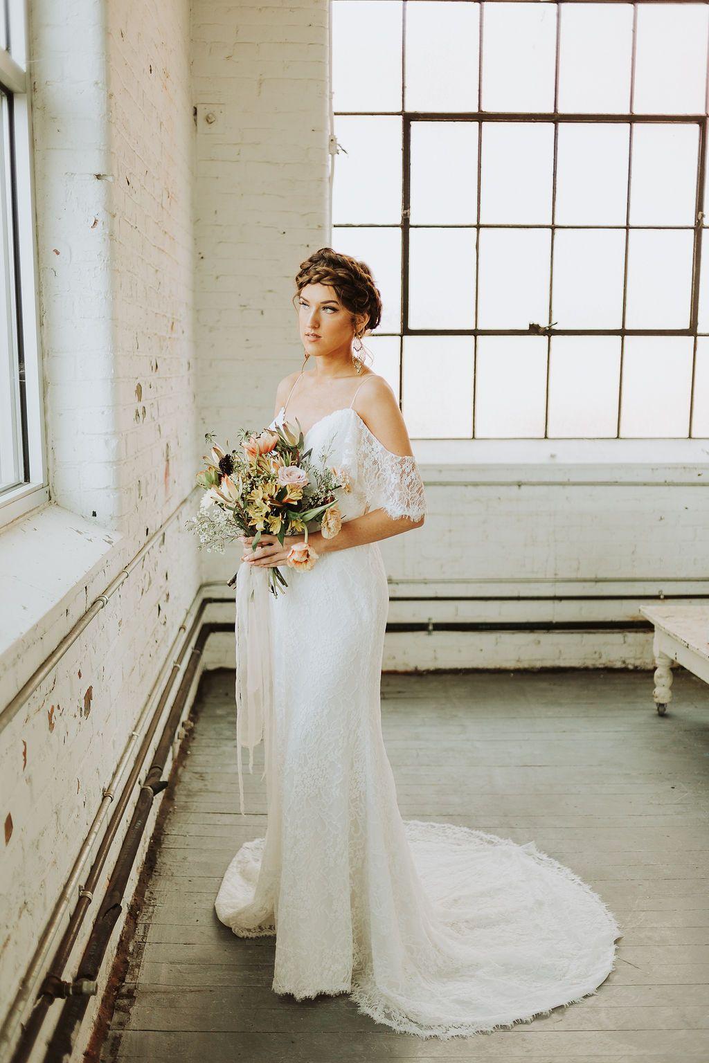 Eden Bridal Gown Boho Gowns
