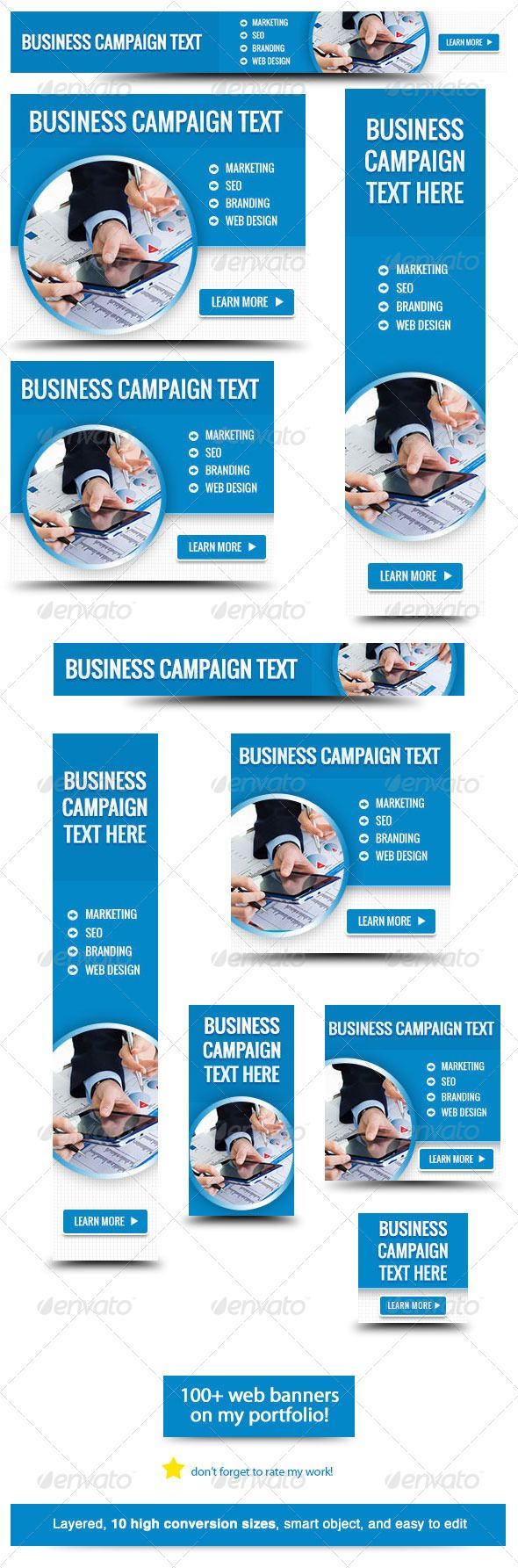 use this web banner for your business campaign banner sizes 1