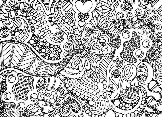 Teen services underground craft resources for the uncrafty Paisley Coloring Pages Art Coloring Pages Drawing Coloring Pages