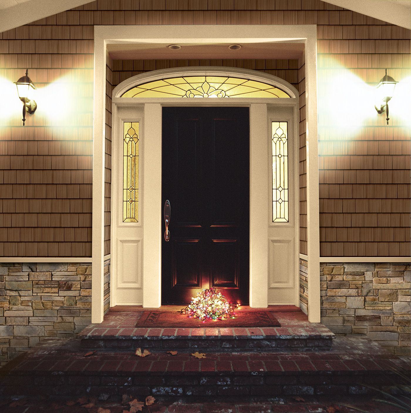 Best Stone With Shaker Above House Exterior Exterior Design 400 x 300