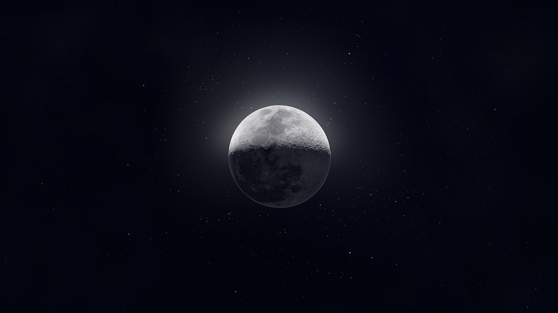 Moon Background from the 50k shot mosaic. 1920x1080 Need