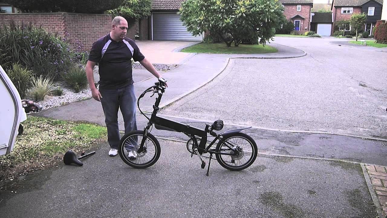 Zephyr Electric Folding Bike Review By Grvo Tv Bike Reviews