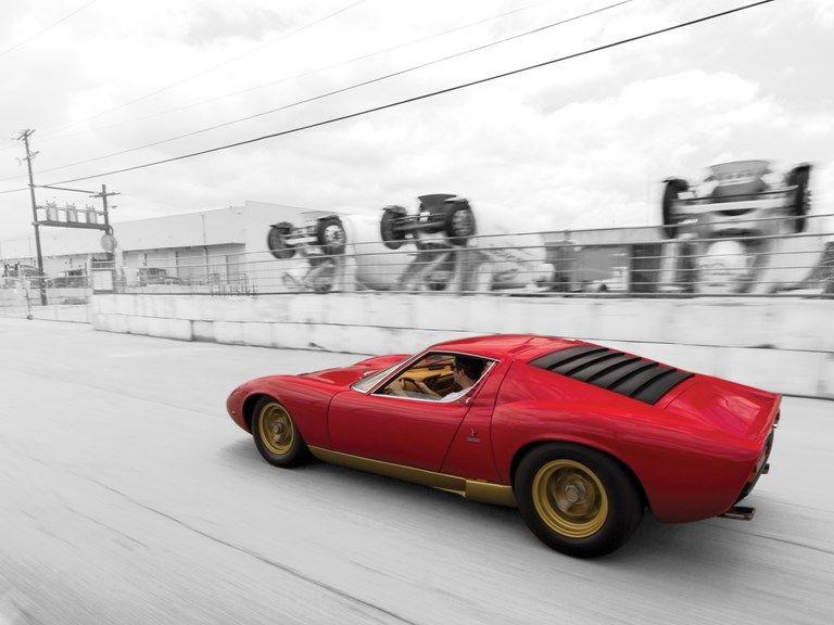 1971 Lamborghini Miura P400 Sv By Bertone Exotic Cars