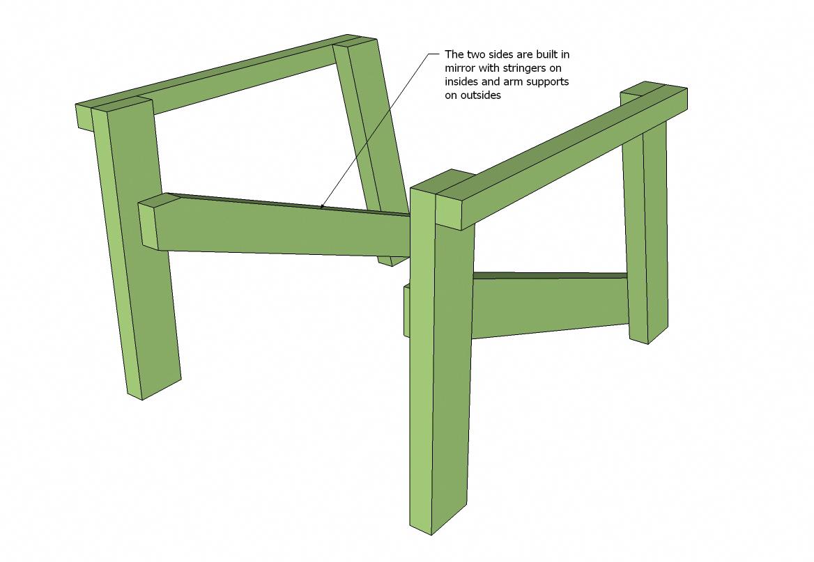 2x4 Adirondack Chair Plans (Ana's Favorite) Ana White