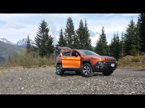 2015 Jeep Cherokee Trailhawk Climbing Mt Cheam Youtube With