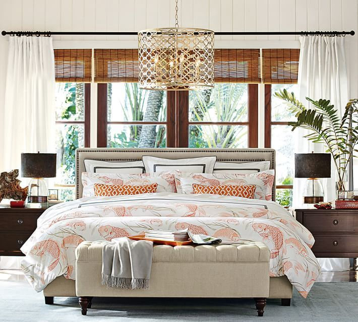 Pottery Barn Fish Bedroom Design Inspiration Organic