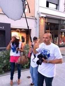 Séance photo portrait de rue au flash