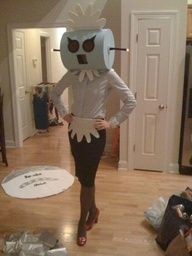 Ages ago I was Judy Jetson. Maybe I should go as Rosie the Robot.