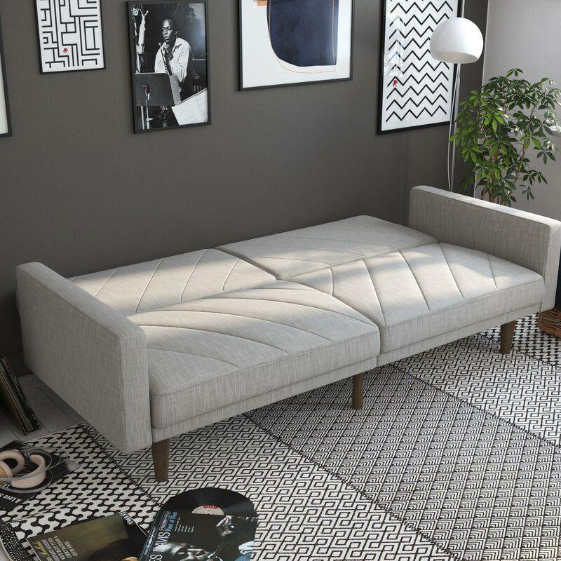 Austen Twin Convertible Sofa in 2020 Mid century sofa