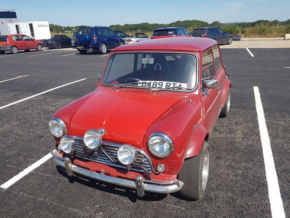 Mini 1275 Austin 1308 track car race roll cage mk3 rover