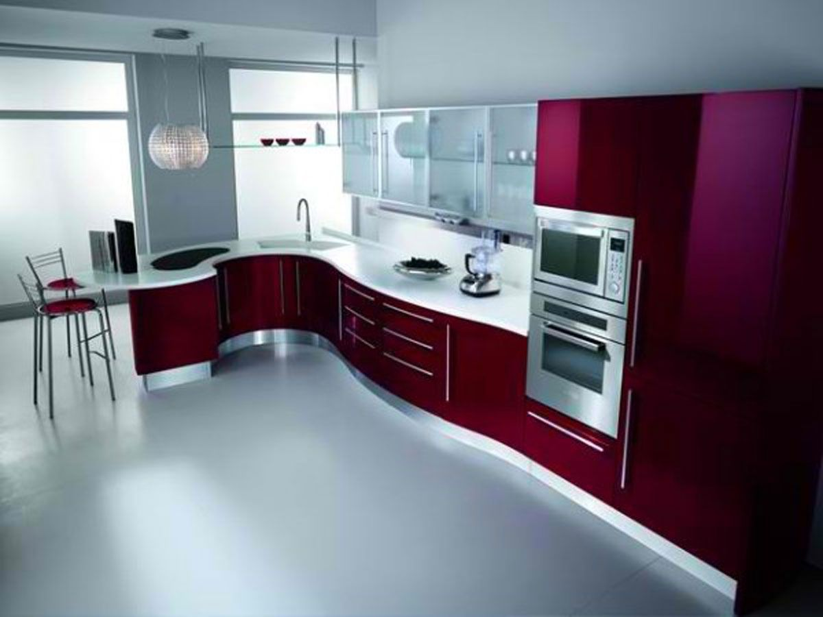 Contemporary Kitchen Furniture | Modern Kitchen Cabinet Designs with ...